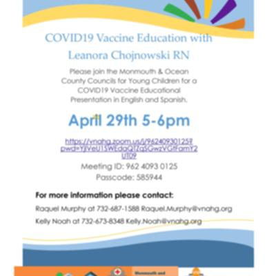 Bilingual COVID19 Vaccine Education
