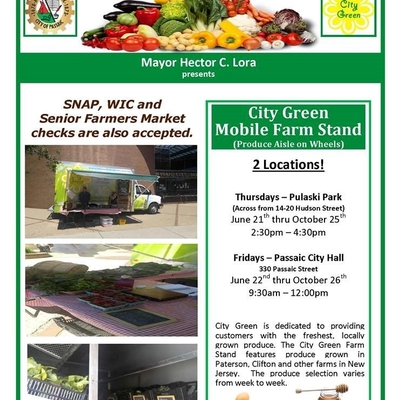 City Green Mobile Farmstand